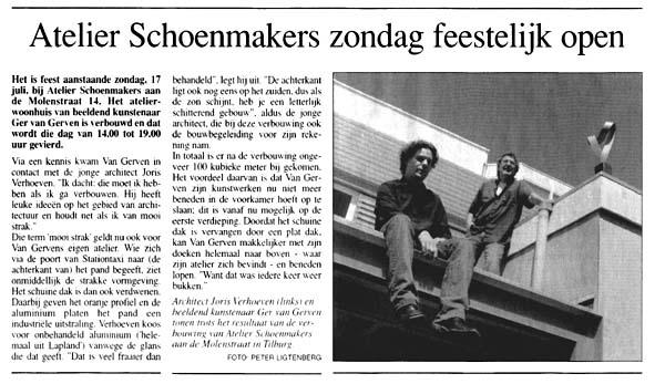 Atelier Schoenmakers feestelijk open
