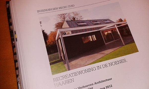 Recreatiewoning Noenes in BNA architecten jaarboek 2013/2014