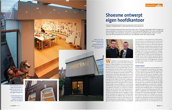 Shoesme project in inHout