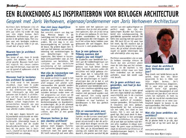 Interview Brabant Journaal