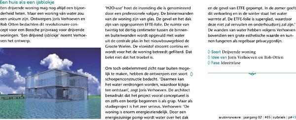 Publicatie in WaterWonen Magazine
